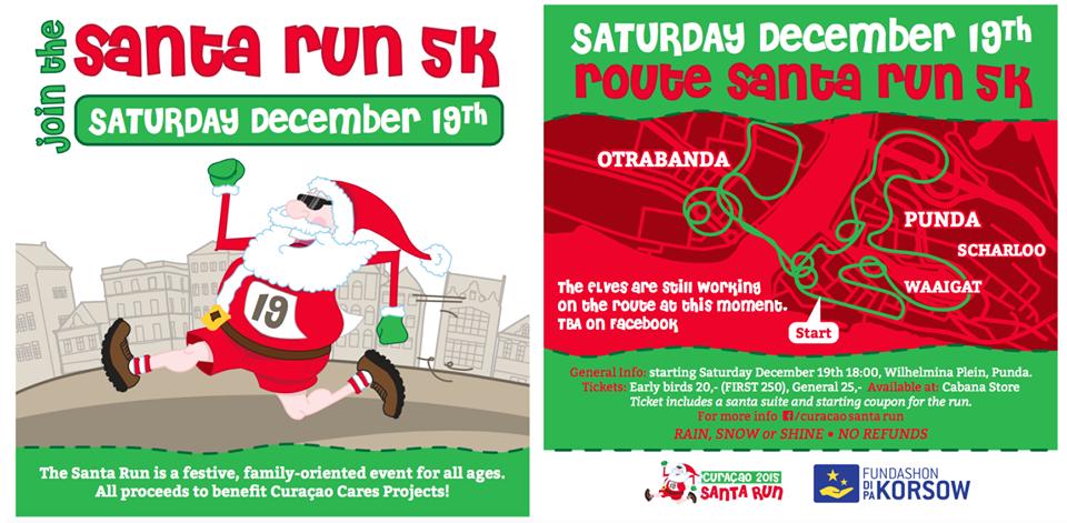 Santa Run Flyer